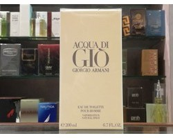 Acqua di Giò - Giorgio Armani Eau de Toilette 200ml Edt Spray