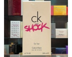 Ck One Shock for Her - Calvin Klein Eau de Toilette 200ml Edt spray