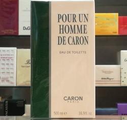 Caron Pour Un Homme 500 ml Eau de Toilette edt Splash Profumo Uomo