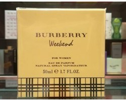 Weekend for Women - Burberry Eau de Parfum 50ml Edp Spray