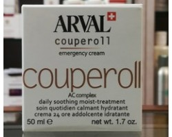 Arval Couperoll Emergency Cream 50ml Crema 24h Addolcente Idratante