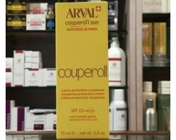 Arval Couperoll Sun Suncare Screen 75ml Spf 15 Crema Protettiva Couperose