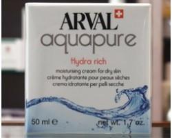 Arval Aquapure Hydra Rich - Crema Idratante pelli secche 50ml