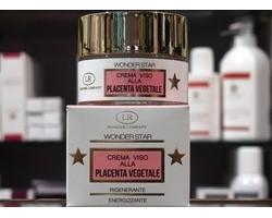 Wonder Star - Crema Viso Rigenerante Energizzante alla Placenta Vegetale 50ml