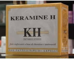 Kh Keramine H - 10 Fiale Rinforzanti a base di Keratina e Aminoacidi