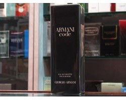 Armani Code - Giorgio Armani Eau de Toilette 75ml Edt spray