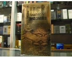 JUST GOLD - Roberto Cavalli Eau de Parfum 75ml EDP SPRAY