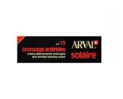 Arval Solaire Bronzage Antirides Spf15 - Crema Abbronzante Antirughe 50ml