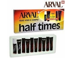 Arval Half Times Olio Viso e Corpo Special Edition 1 Viso+ 4 Corpo
