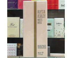White Musk Alyssa Ashley Eau de Toilette 50ml Edt Spray