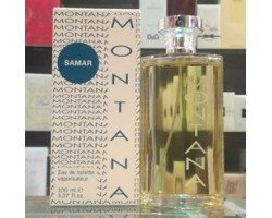 Samar Claude Montana Eau de Toilette 100ml Edt Spray