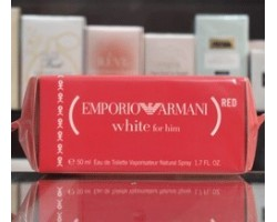 Emporio Armani White (Red) for Him - Eau de Toilette 50ml Edt Spray