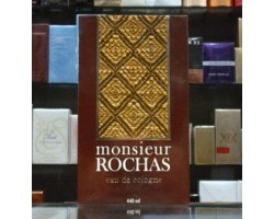 Monsieur Rochas - Eau de Cologne 440ml Edc Men Splash Vintage