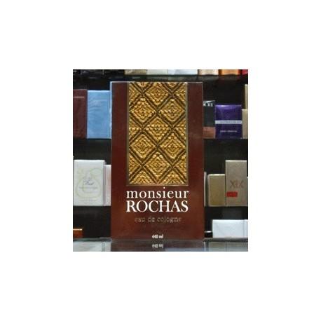 Monsieur Rochas - Eau de Cologne 440ml Edc Men Splash Vintage