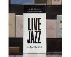 Live Jazz - Ysl, Yves Saint Laurent Eau de Toilette 50ml Edt Spray