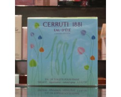1881 Eau d'Ete - Cerruti Eau de Toilette 100ml Edt Spray