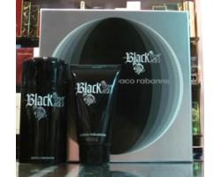 Black Xs Paco Rabanne Set: Eau de Toilette 100ml Spray + Shower Gel 150ml
