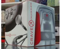 Crave - Calvin Klein Set: Eau de Toilette 75ml spray + Shower Gel 50ml + Music Kit