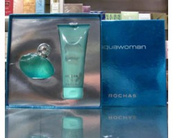 Aquawoman - Rochas Set: Eau de Toilette 50ml spray + Body Lotion 200ml