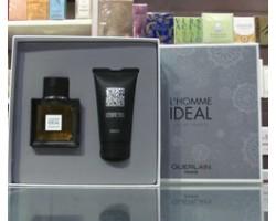 L'Homme Ideal - Guerlain Set: Eau de Toilette 50ml Edt Spray + Shower Gel 75ml
