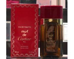 Must de Cartier - Cartier Eau de Toilette 100ml Edt Spray Vintage