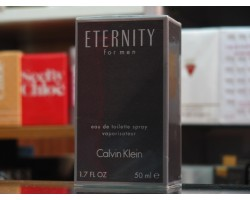 ETERNITY for Men - Calvin Klein Eau de Toilette 50ml/100ml EDT SPRAY