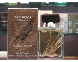 Messages D'Homme Mariella Burani Eau de Toilette 100ml Edt Spray