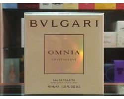 OMNIA CRYSTALLINE - Bulgari Eau de Toilette 40ml EDT SPRAY